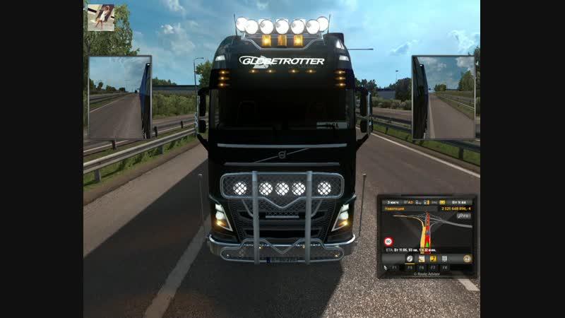 65 Euro Truck Simulator 2 Ольга Дальнобоищик Прикупила Супер Прицеп