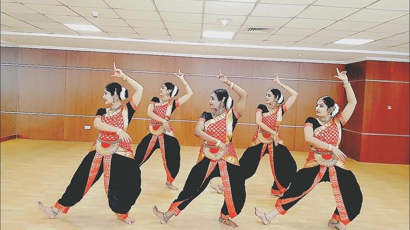 Shree Ganeshay Dheemahi - Semi classical Performance- Choreography by Parvathy Raj
