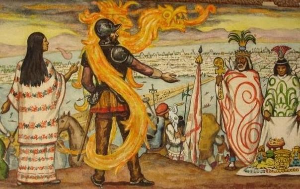 МАЛИНЧЕ: НЕПРОСТАЯ СУДЬБА САМОЙ ОДИОЗНОЙ ЖЕНЩИНЫ В ИСТОРИИ МЕКСИКИ Испанцы называли ее «доньей Мариной». Эта знатная индейская женщина жила в суровую эпоху конкисты, когда сила оружия,