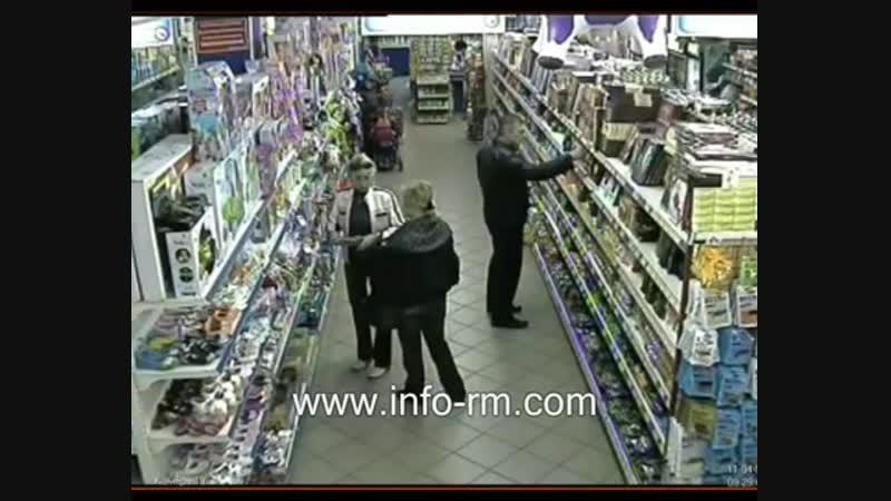 Как воруют в супермаркетах столицы Мордовии Заказать услуги охраны в Саранске нанять ЧОП Мордовии
