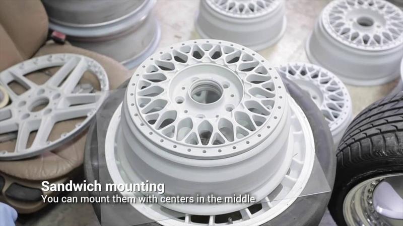 Refurbishing BBS RS Wheels - 3 ways you can mount them