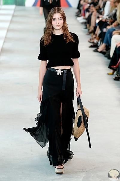 Неделя моды в Нью-Йорке: Показ Michael Kors