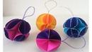 ESFERAS DE PAPEL Esferas navideñas de papel