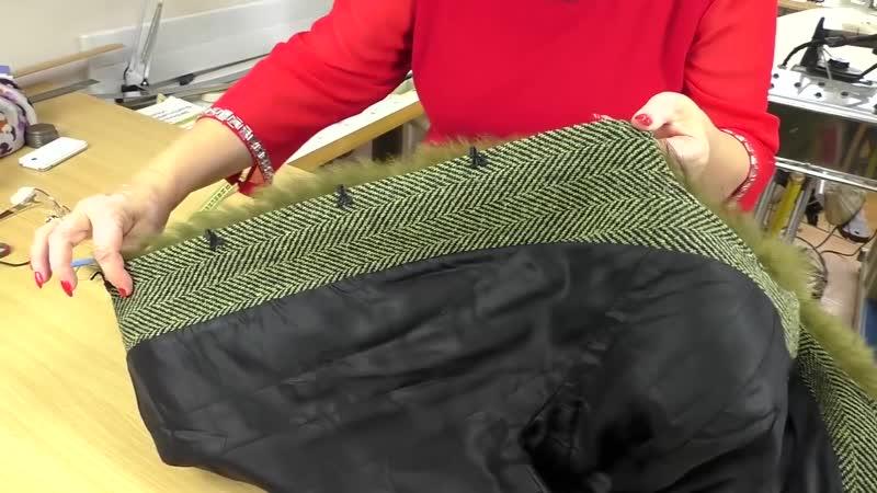 Как сшить пальто с мехом без скорняжной машины Пошаговая технология[HD,1280x720, Mp4]