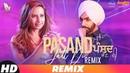 Pasand Jatt Di (Remix) | Qismat | Ammy Virk | Sargun Mehta | Jaani | Sukh-E Muzical Doctorz