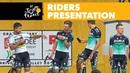 Cérémonie de présentation des coureurs Tour de France 2018