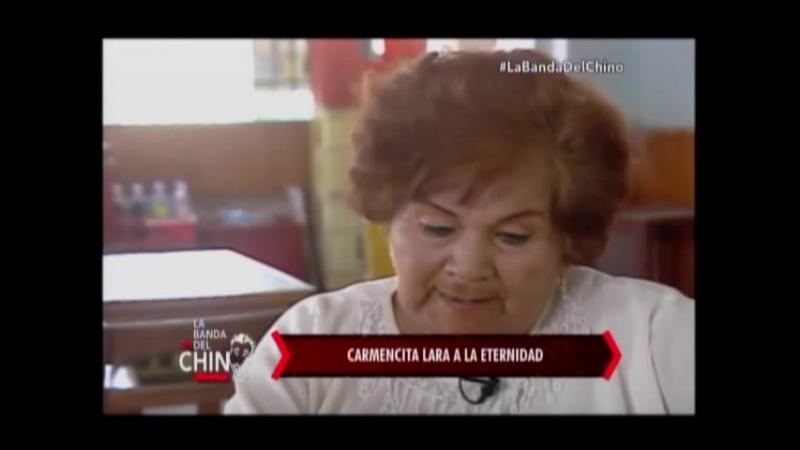 Nota - Carmencita Lara a la eternidad