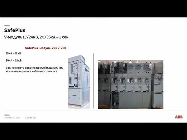 Вебинар АББ_Оборудование среднего напряжения АББ с элегазовой изоляцией.