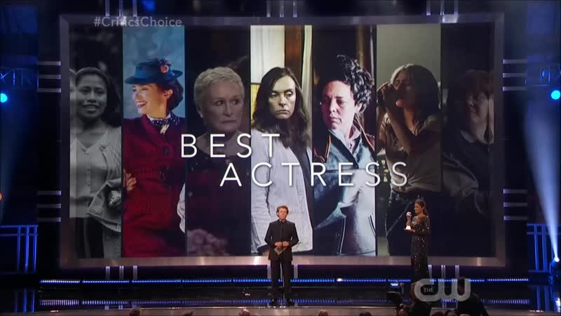 Речь Леди Гаги и Гленн Клоуз на церемонии Critics Choice Awards (Номинация Лучшая актриса)