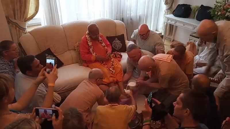 Гуру Пуджа Гопал Кришны Госвами - Москва, 14.06.2019