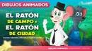 El Ratón de Campo y el Ratón de Ciudad fábula | Cuentos infantiles para dormir animados