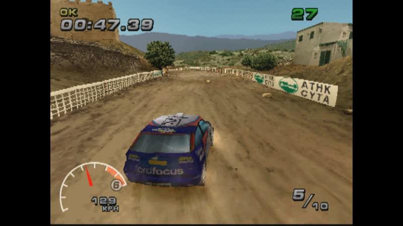 [WRC FIA WORLD RALLY CHAMPIONSHIP ARCADE][SUPER SPECIAL][REVERSE RANDOM5][FORD FOCUS WRC][PS1][2002]