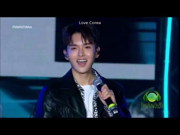 2018.11.08 Super Junior Выступление на Telehiten -los Premios Telehit