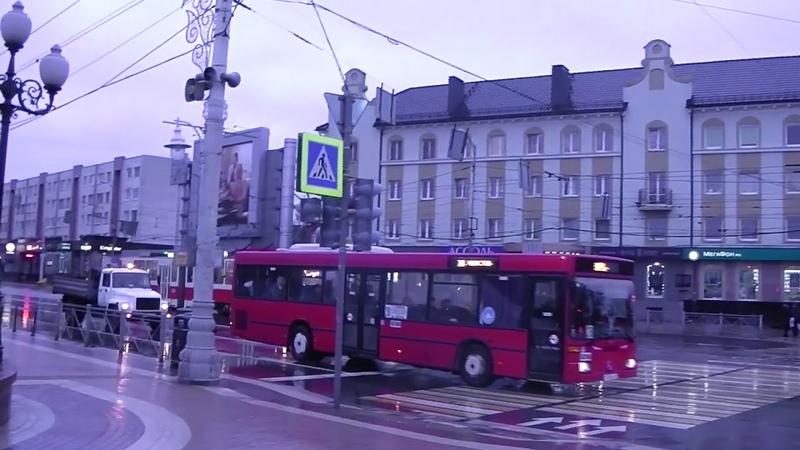 Калининград площадь Победы 1 января 2019 года 9 35 утро