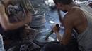 Making Bronze Hand Made Gong in Mandalay, Myanmar