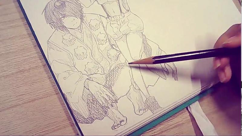 絵で紙埋めよう②【人外】