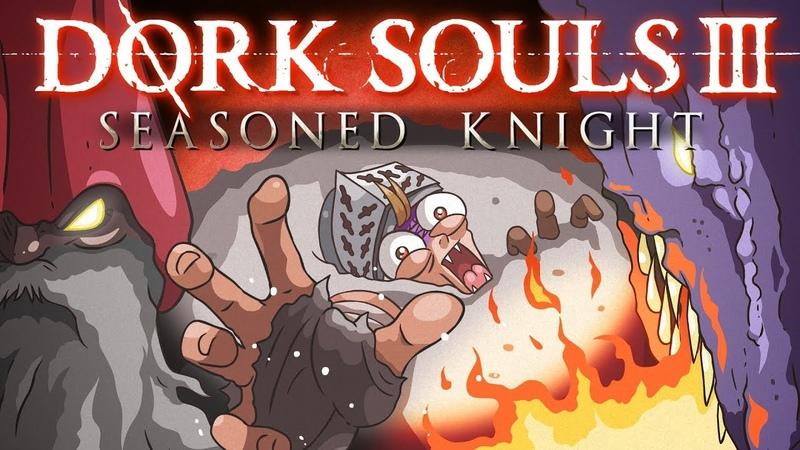 DORK SOULS 3 Seasoned Knight Dark Souls 3 Cartoon Parody