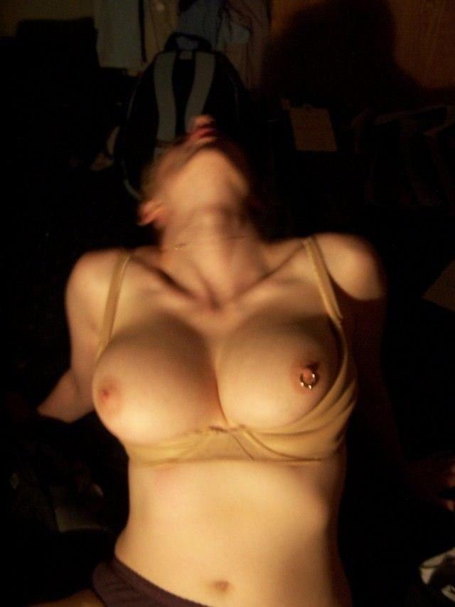 Libidinous pierced nipples chick loves ass fucking