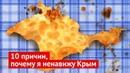 10 причин, почему я ненавижу Крым