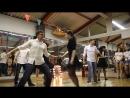 Парные танцы хастл - Начинающая группа. Новогодний отчетный концерт Dance Fox, г. Кемерово