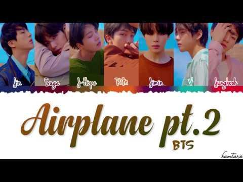 BTS (방탄소년단) - AIRPLANE PT.2 Lyrics [Color Coded_Han_Rom_Eng]