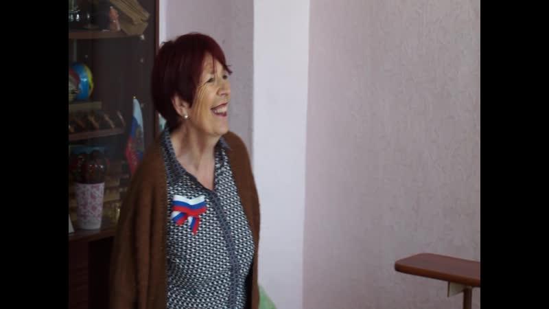 В Серовской школе интернате встречали гостей из Франции