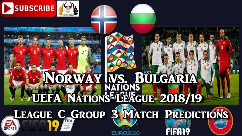 Norway vs. Bulgaria | UEFA Nations League | League C Group 3 Predictions FIFA 19
