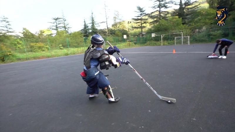 Хоккейная физкультура с ХК Сочи: СОШ № 11