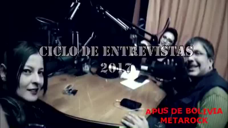 APUS DE BOLIVIA EN RADIO FIDES - ENTREVISTA
