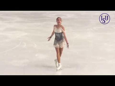 Alina ZAGITOVA Алина Загитова SP - 2018 Nebelhorn Trophy