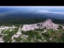 Хребет Зюраткуль с высоты птичьего полета