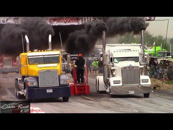 Great Lakes Big Rig Challenge 2019 Bobtail Drag Racing Compilation