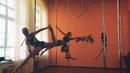 Тренировка Pole dance в студии FreeFly