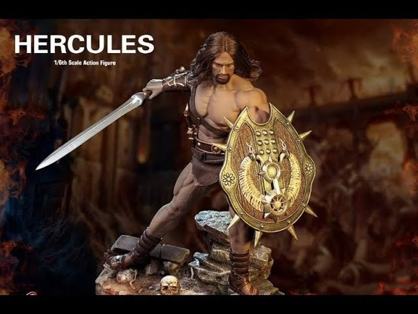 PREVIEW TBLeague 1/6th scale Hercules 12-inch action figure - Dwayne Johnson