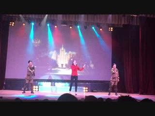 Яна на Гала-концерте Регионального молодежного конкурса.Лауреат 1-й степени(Янусь,ребята прислали видео)