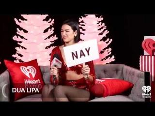 Dua Lipa plays