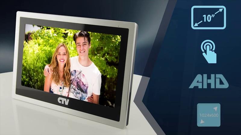 CTV M4103AHD Цветной видеодомофон обзор