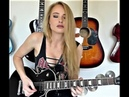 Guitarist of the Month ! April 2019 The Amazing - Talented and Beautiful Sophie Lloyd- Shreds!