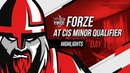 CS:GO Highlights: forZe at CIS Minor Qualifier Day 1