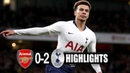 Arsenal Vs Tottenham 0-2 All Goals & Extended Highlights HD