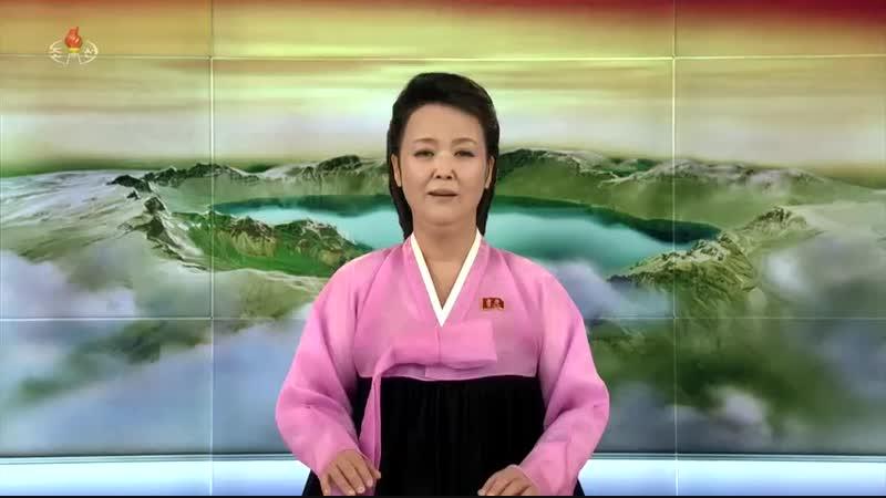 경애하는 최고령도자 김정은동지께서 평안남도 양덕군 온천관광지구건설현장을 현지지도하시였다