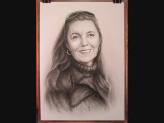 Портрет женщины .