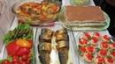 Приличный ПРАЗДНИЧНЫЙ СТОЛ за 2 часа - Закуски, Салат, Горячее и Торт без выпечки