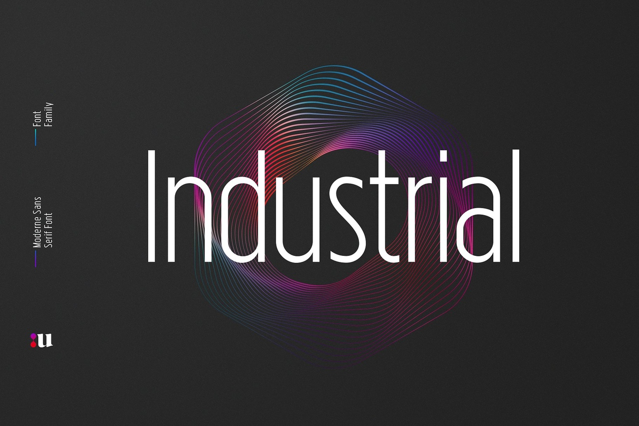 Шрифт - Industrial