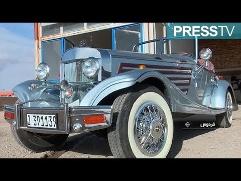 Iranian car enthusiast builds 19th-century Mercedes