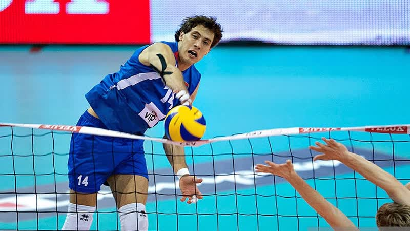 Volleyball MONSTER KILL 3rd meter spike from Aleksandar Atanasijević