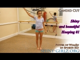 Shiny and beautiful Hooping 01 - Candid Cut