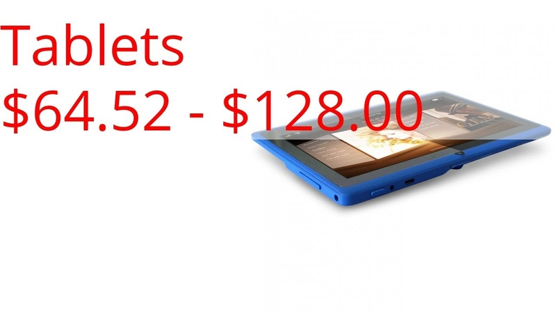 Tablets $64.52 - $128.00