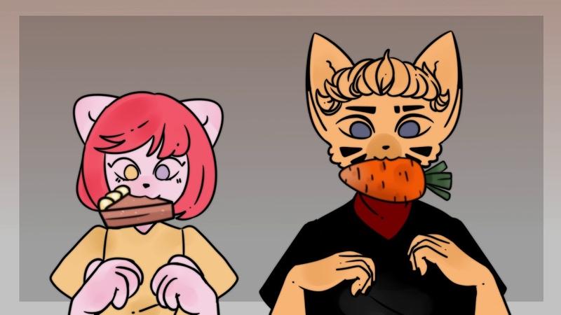 Hungry|Animation meme
