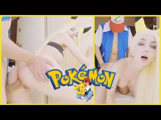 Pokemon. ash fucks pikachu in sweet anal and cum inside
